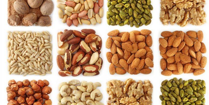 Калорийность орехов и сухофруктов